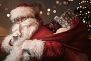 Kalėdų senelio šventinis sveikinimas