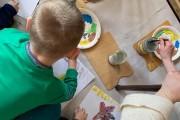Patirtinio ugdymo pamoka dailės mokykloje