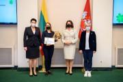 Geriausių Lietuvos fizinio ugdymo mokytojų apdovanojimai