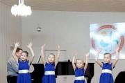 """Mergaičių kvarteto pasirodymas """"Dainų dainelė"""" II etapo atrankoje"""